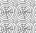 Cad Block of Trestamme – Tre mønster in dwg